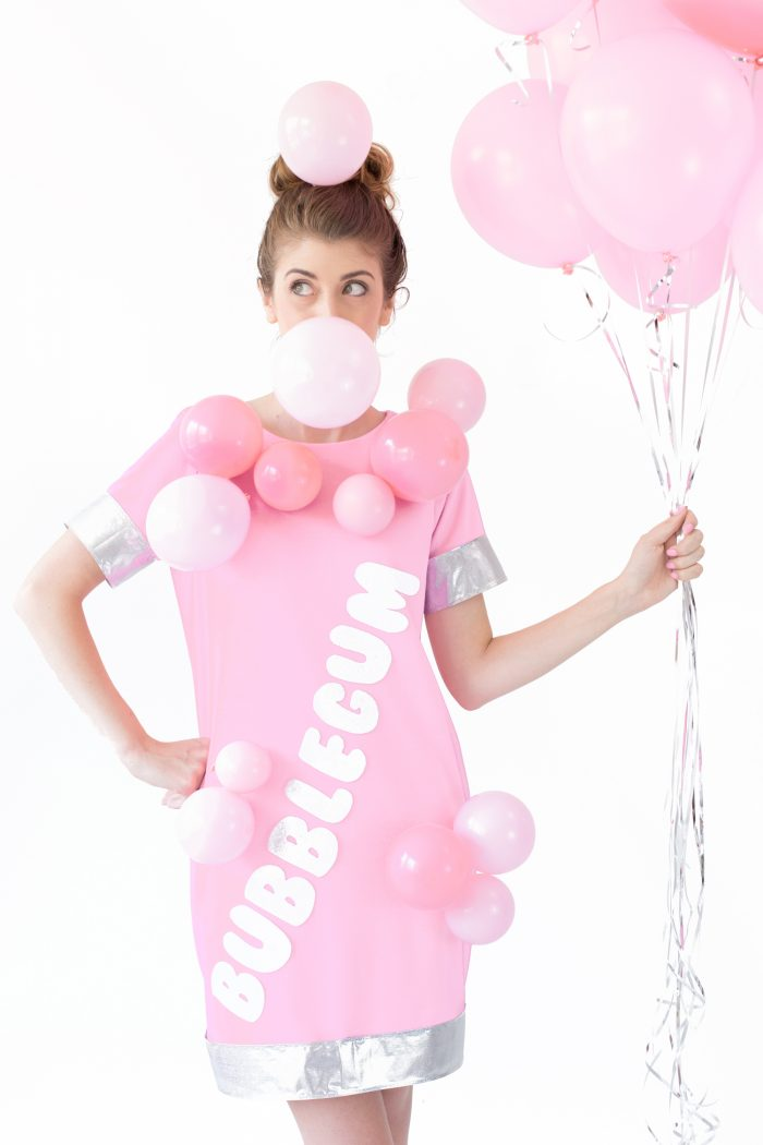 DIY Bubblegum Costume