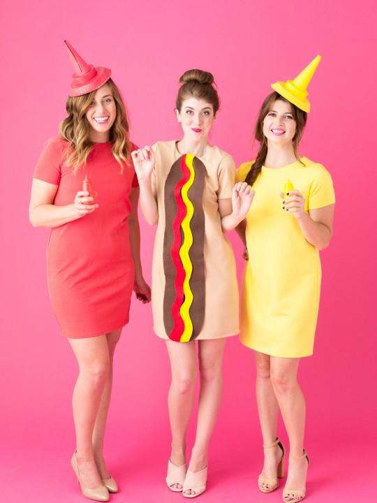 DIY Hot Dog Costume