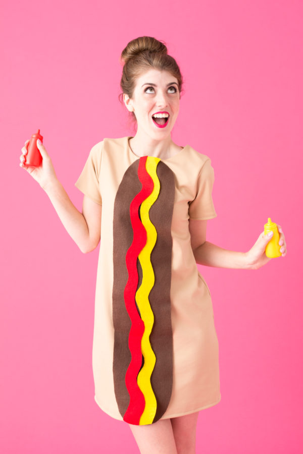 DIY Hot Dog Costume
