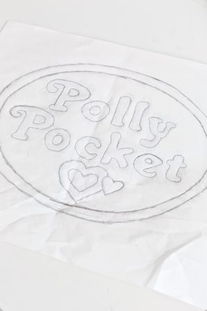DIY Polly Pocket Costume