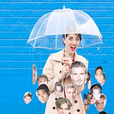 DIY Raining Men Costume