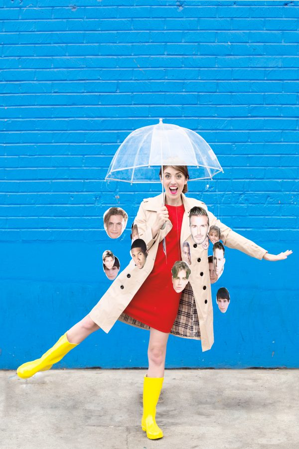 DIY Raining Men Costume