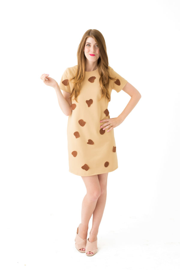 DIY Chocolate Chip Cookie Costume