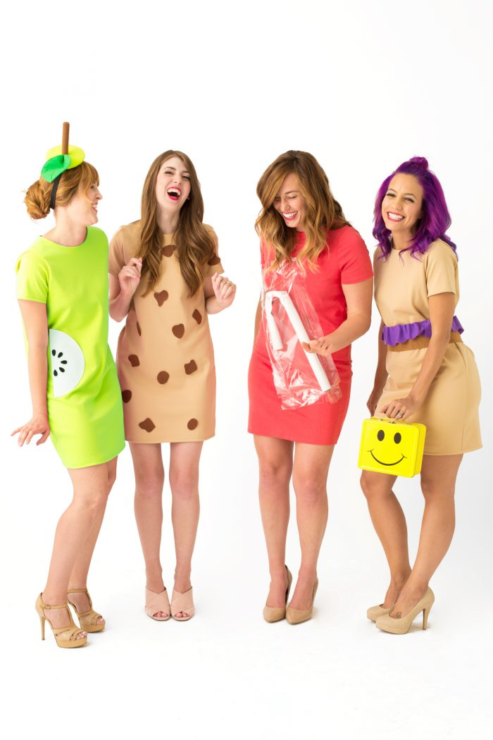 DIY School Lunch Costumes
