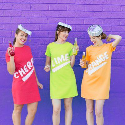 DIY Soda Bottle Costumes