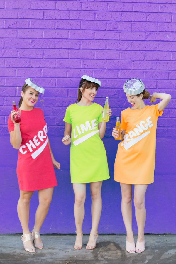 DIY Soda Bottle Costumes