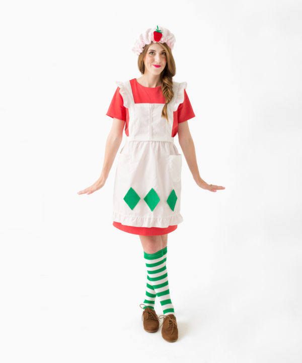 DIY Strawberry Shortcake Costume