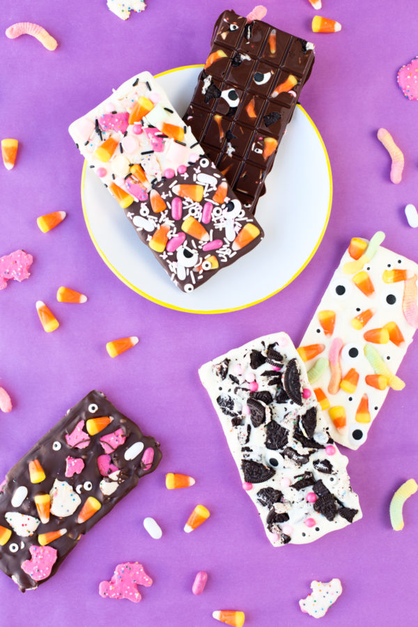 Leftover Halloween Candy Chocolate Bars