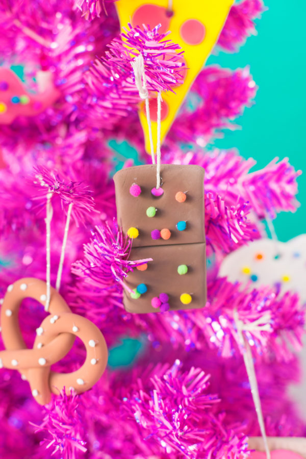 DIY Junk Food Ornaments