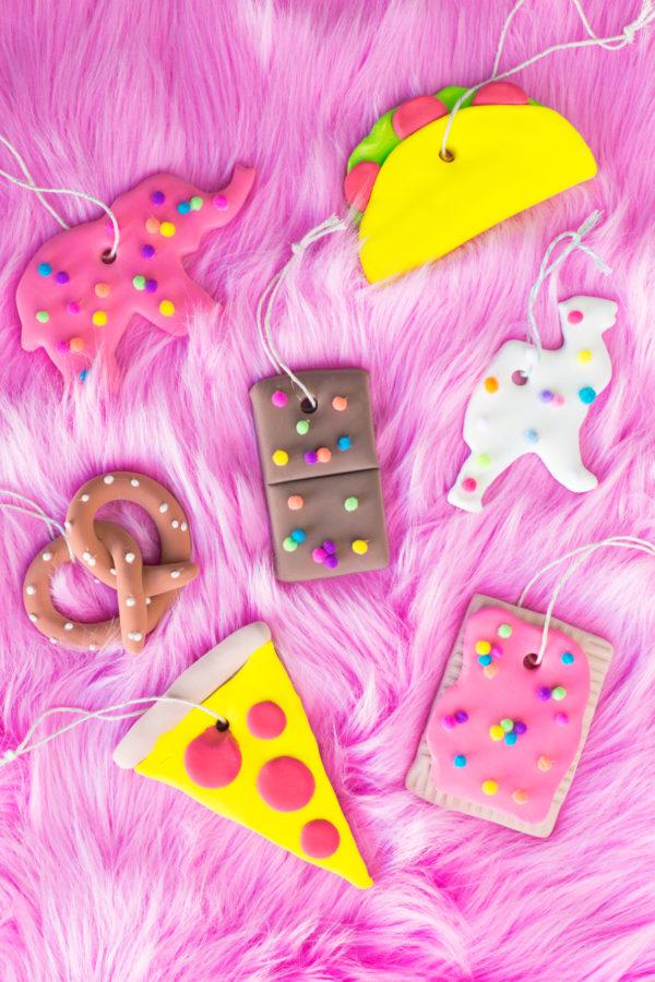 DIY Junk Food Ornaments