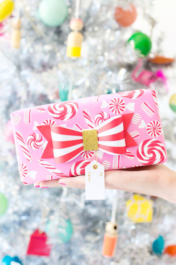 Peppermint Gift Wrap