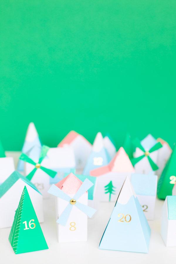 Advent Calendar Houses