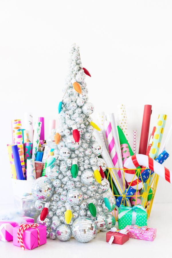 Disco Ball Christmas Tree