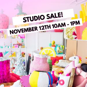Happy Weekend! (+ Studio Sale Reminder!)