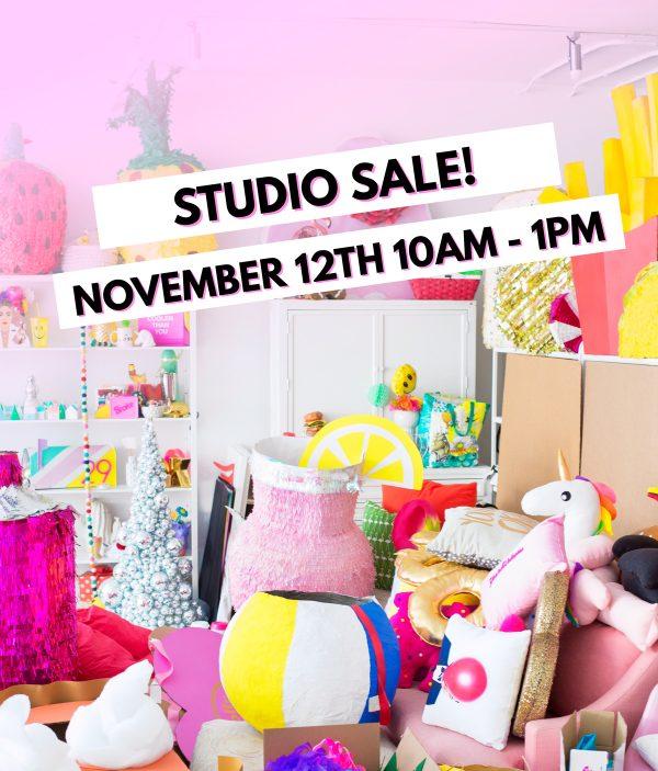 Studio DIY Studio Sale