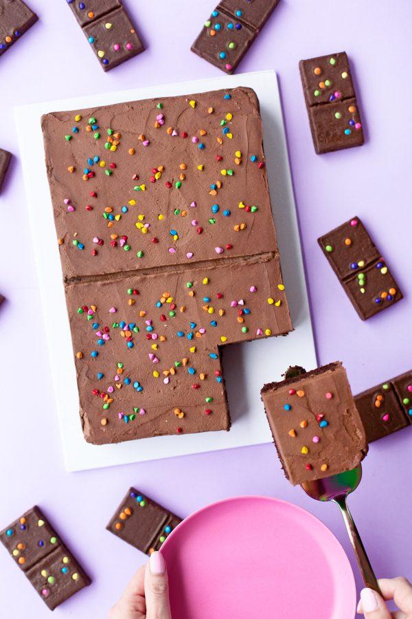 Cosmic Brownie Cake