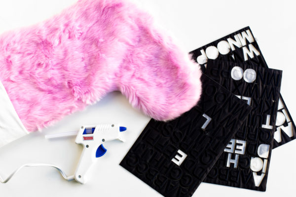 DIY Graphic Stockings