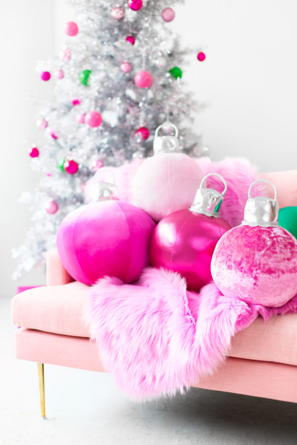 DIY Ornament Pillows