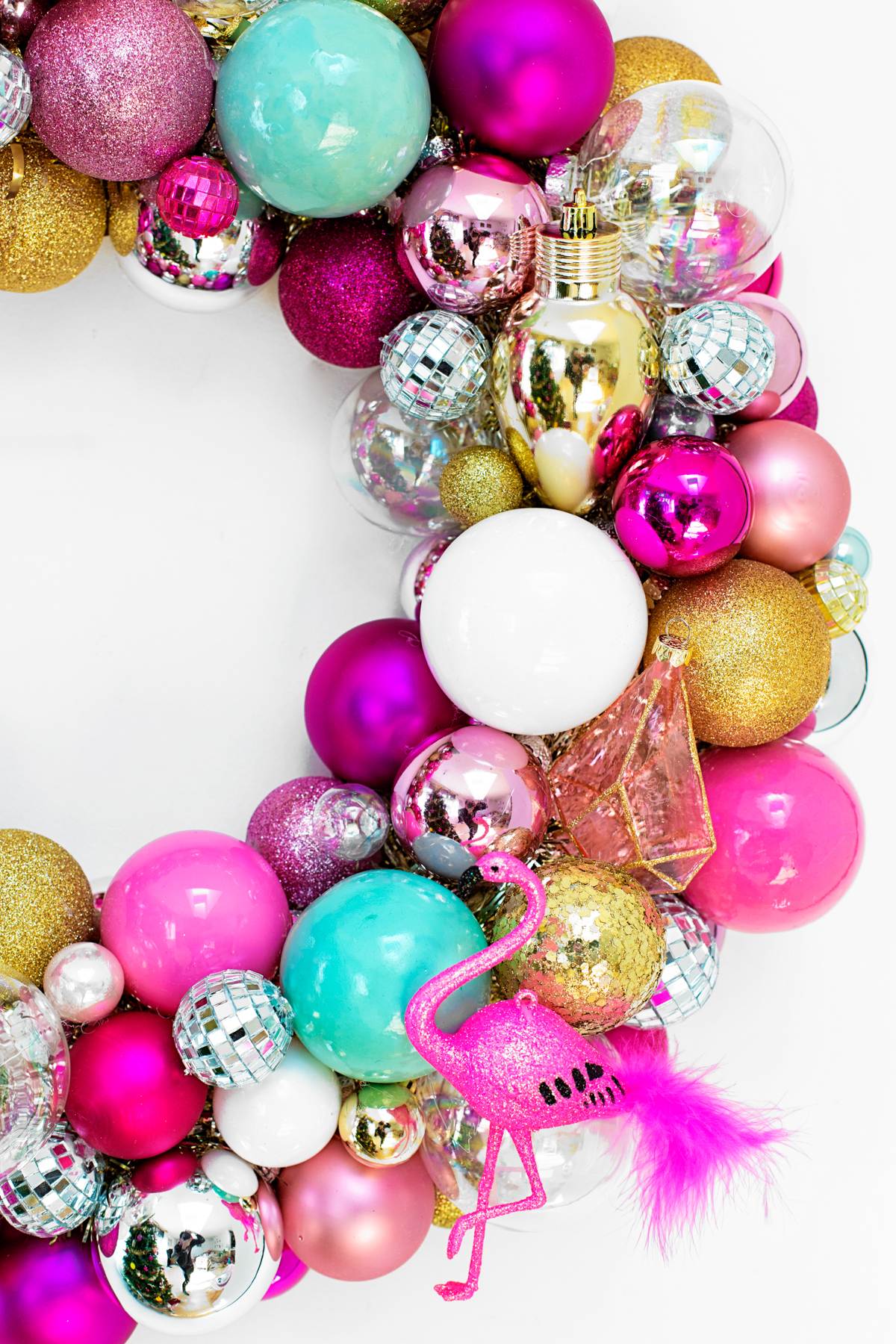 Diy Ornament Wreath Studio Diy