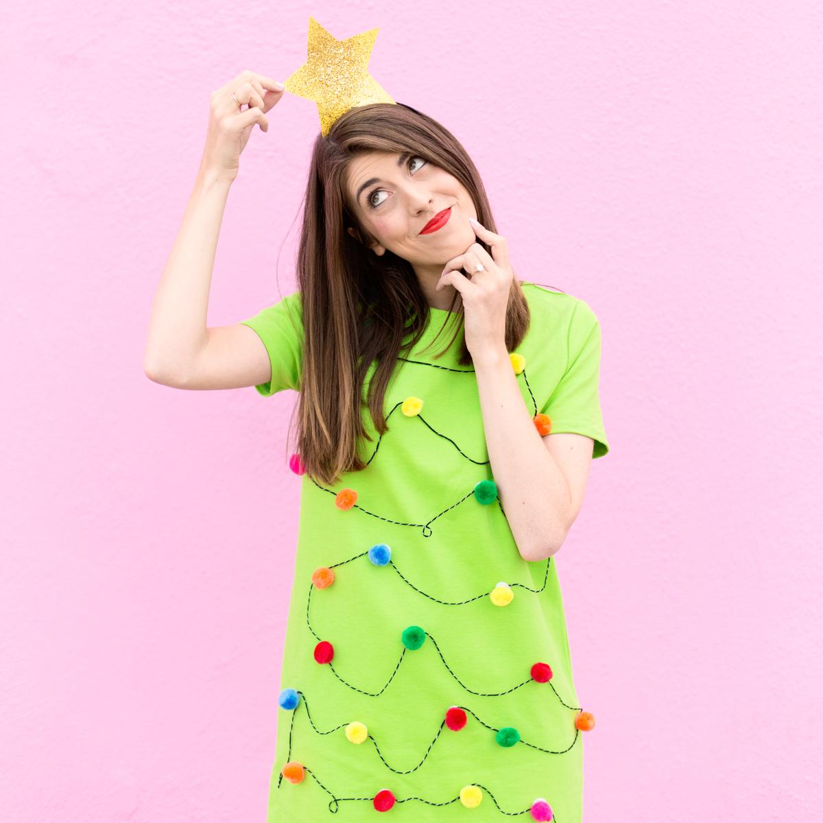 Diy Christmas Tree Sweater: Happy Weekend!