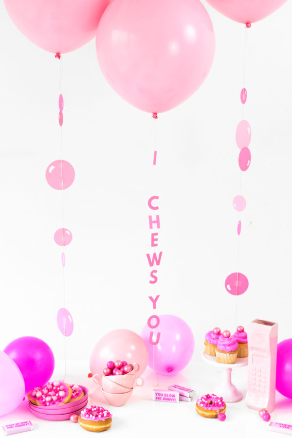 Bubblegum Galentine's Day Party