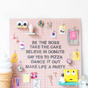 DIY Inspiration Pegboard (+ A Reader Contest with BEHR!)