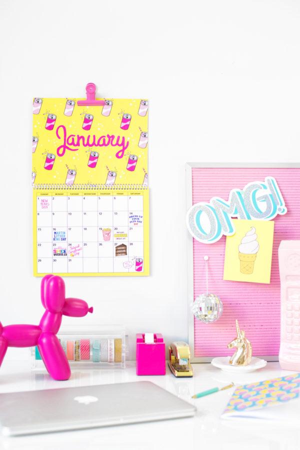 Free Printable 2017 Wall Calendar