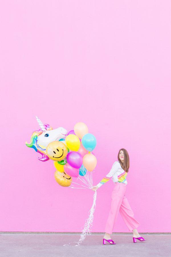 Rainbow Balloons!