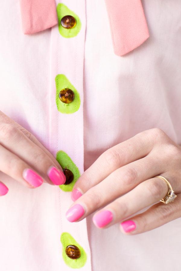 DIY Avocado Buttons!
