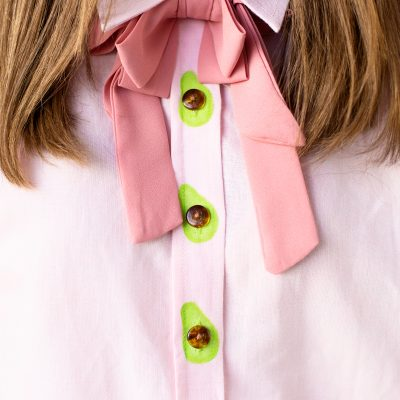 DIY Avocado Buttons