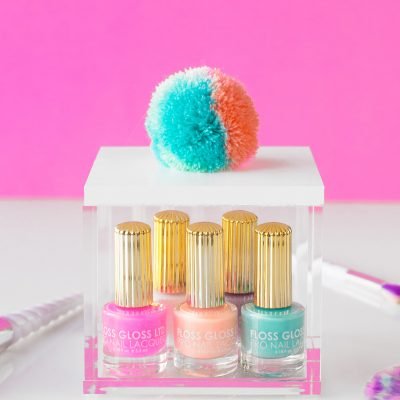 DIY Pom Pom Storage Boxes