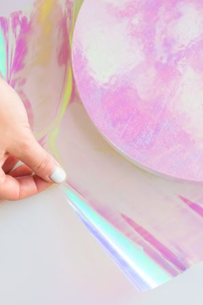 DIY Holographic Wall Clock