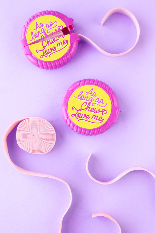 As Long As Chew Love Me | Five Minute Free Printable Valentines