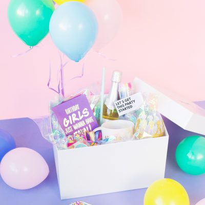 DIY Birthday in a Box for Your BFF