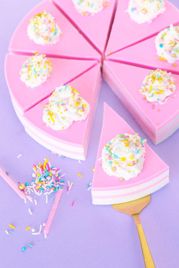 DIY Birthday Cake Soap