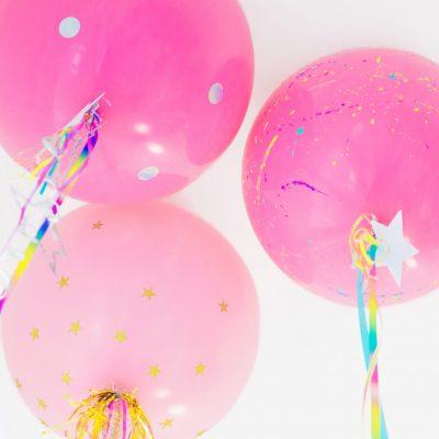 DIY Unicorn Balloons