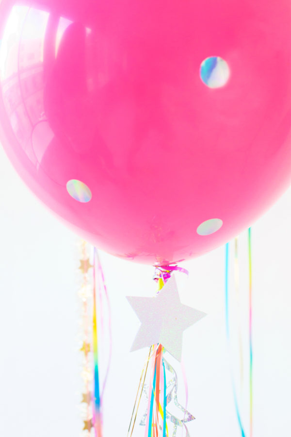 DIY Unicorn Balloons