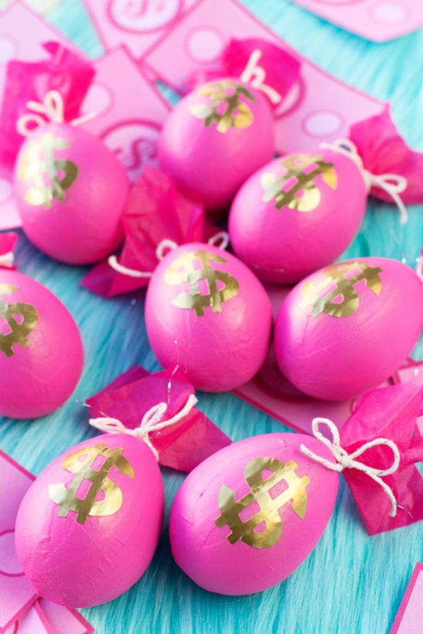 DIY Money Bag Easter Eggs