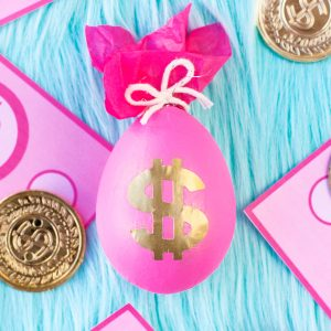 DIY Money Bag Easter Eggs