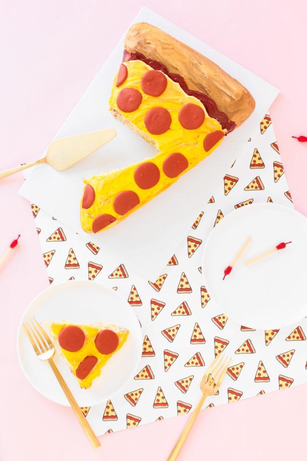 Pizza Cake Tutorial