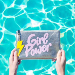 Can't Clutch This Reveal: Girl Power Clutch