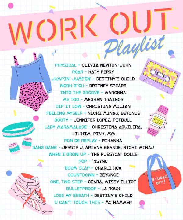 Our Favorite Workout Playlist
