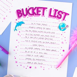 My Bucket List (+ What's On Yours!?)