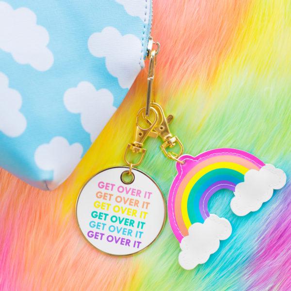 Rainbow Keychains!!