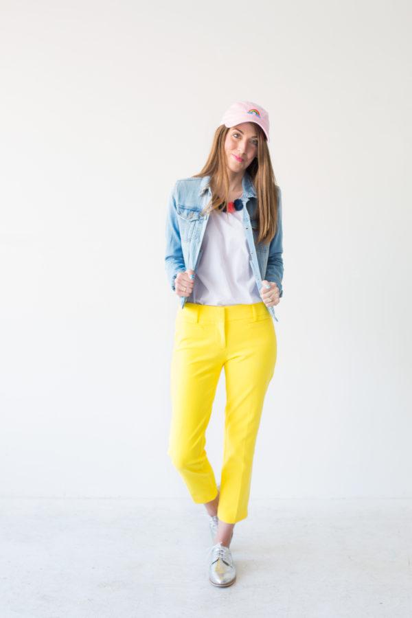 Colorful Spring Capsule Wardrobe