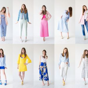 A Colorful Spring Capsule Wardrobe!