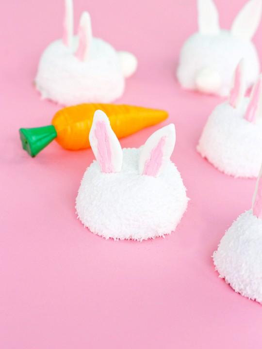 Easter Bunny Sno Balls