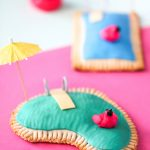 Piña Colada Pool Pop Tarts