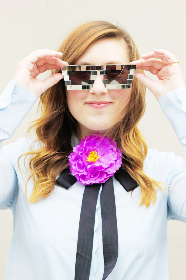 DIY Disco Sunglasses