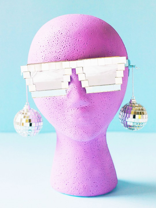 DIY Disco Sunglasses
